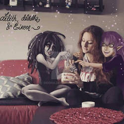 Original characters and me )