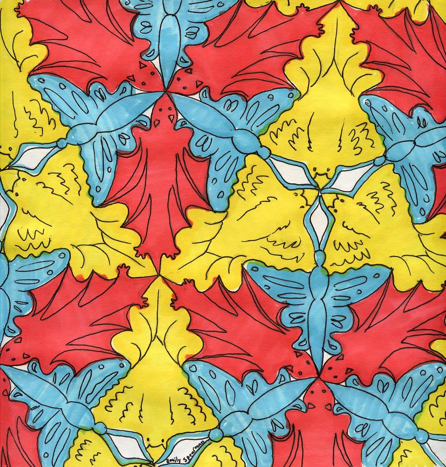 dog tessellation art - photo #31