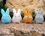 'Totoro' Plushies