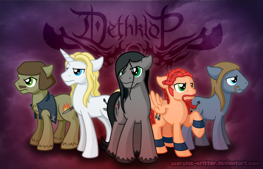 Dethklop (Take 2) by Scorchie-Critter
