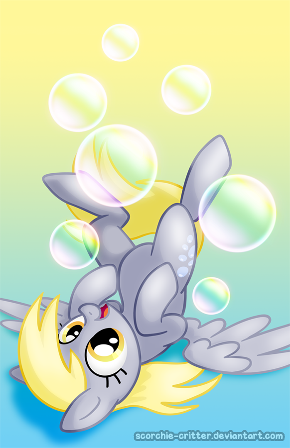 Bubbles! by Scorchie-Critter