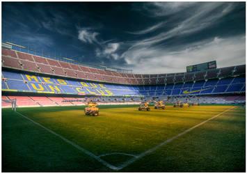 Barca stadium by bandesz99