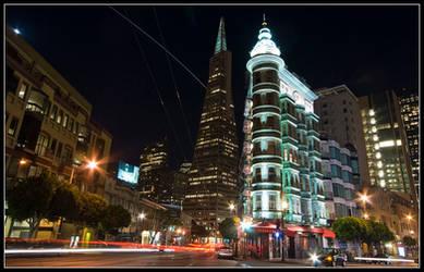 San Fransisco at night by bandesz99