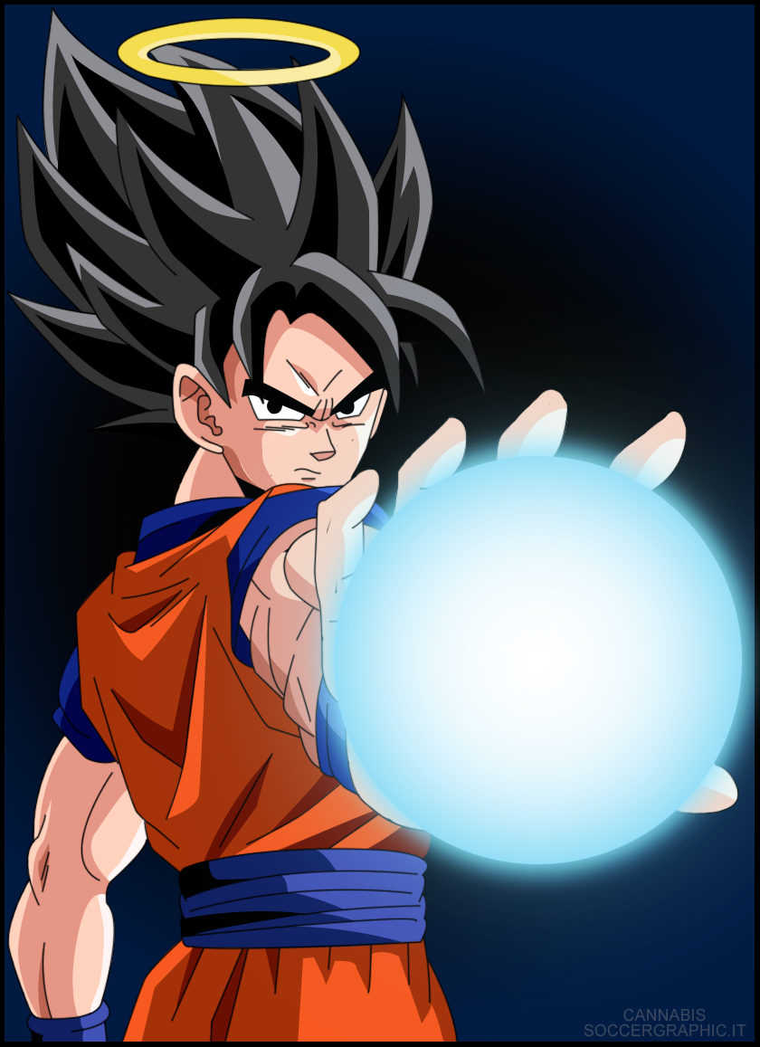 Goku Vector by cannabis97 on DeviantArt: cannabis97.deviantart.com/art/Goku-Vector-389043744