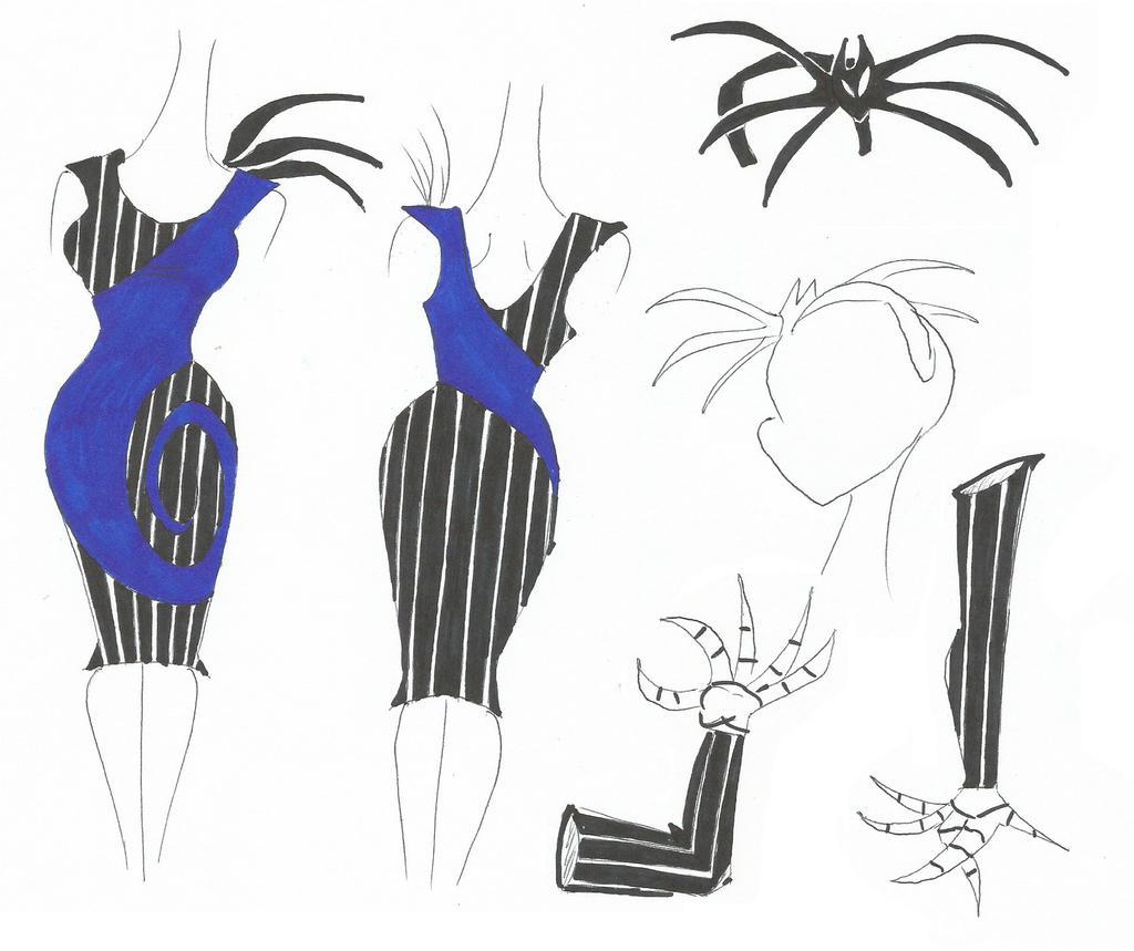 Pumpkin Queen Dress Design by SpiketheKlown