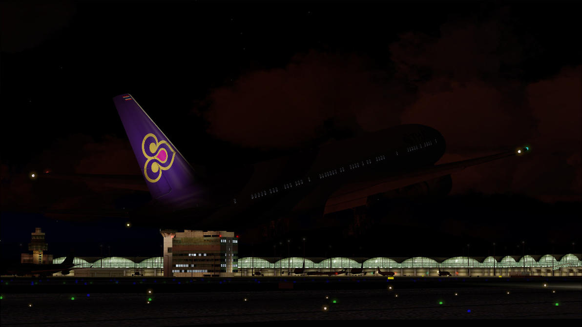 Thai Airways 777