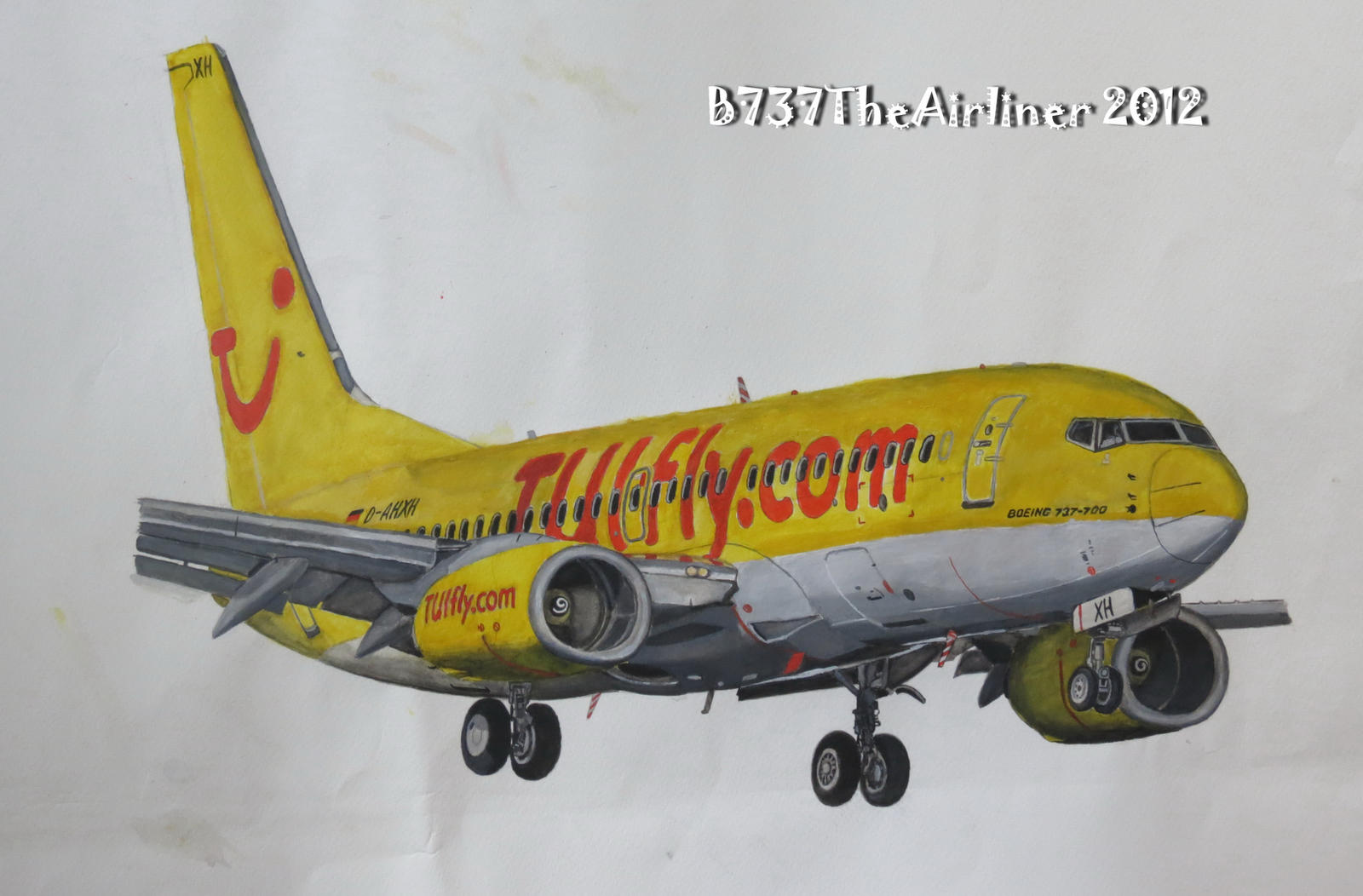 TUIFly Boeing 737-700 Painting by B737TheAirliner