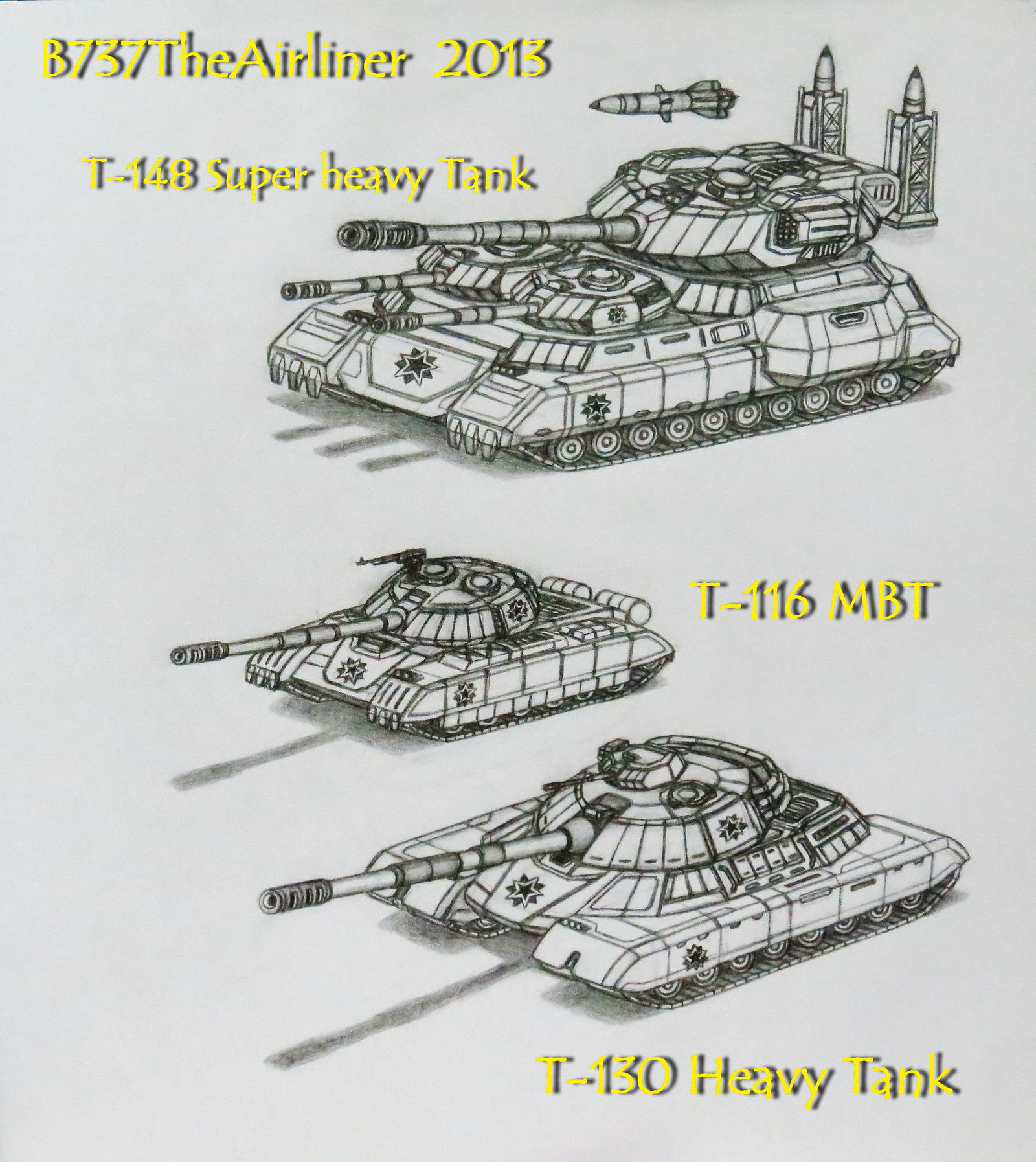The Red Star's Tanks Arsenal by B737TheAirliner