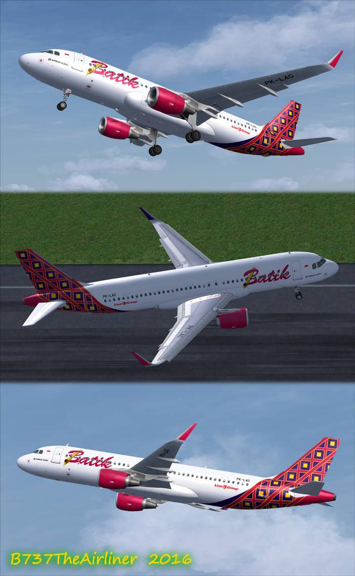 Batik Air A320 Repaint by A320TheAirliner on DeviantArt