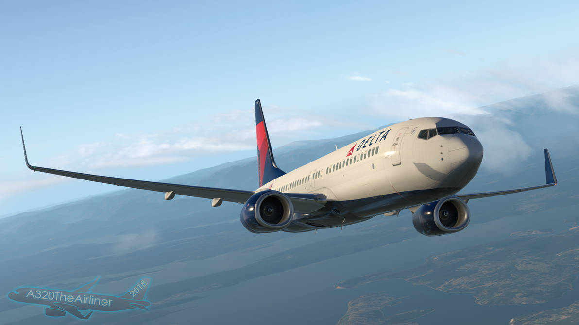 Flying with Delta 737-800 - X-Plane 11 by A320TheAirliner on DeviantArt