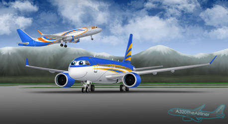 Terrence and Vinnie by A320TheAirliner