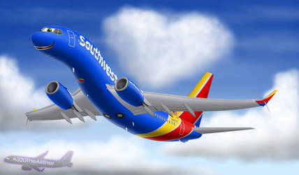 This Plane's Got Heart by A320TheAirliner