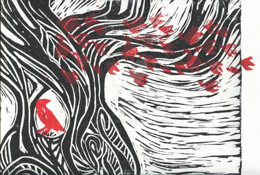 Wisdom of trees - Red Raven 2