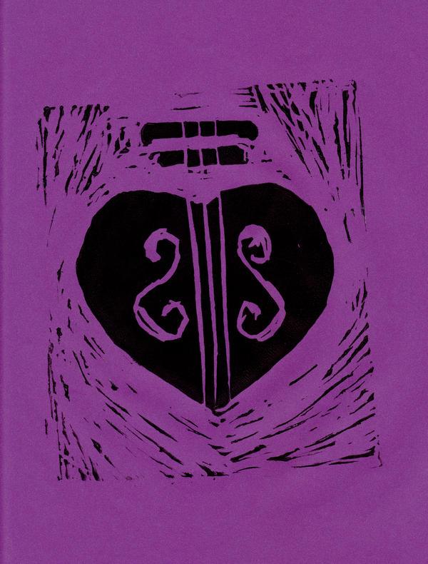 2015 HeartStrings on Purple by dreamling
