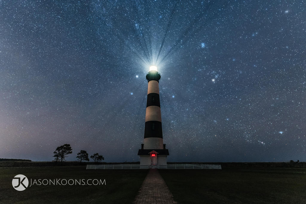 Night Light   Outer Banks by JasonKoons