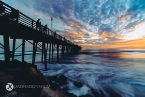 Pier Pleasure | Oceanside Pier by JasonKoons