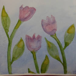Two Lip Tulips by LilithDay