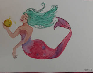 Odd Little Mermaid by LilithDay