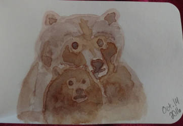 Bear Family Portrait by LilithDay