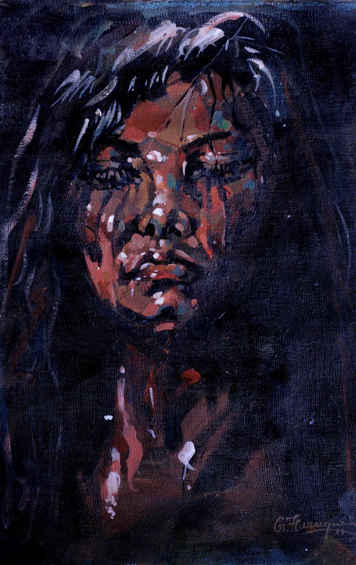 Dark Girl by gfaruque