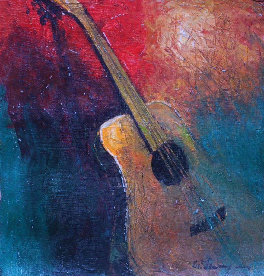 Guitar by gfaruque