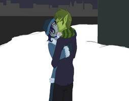 bbrae- Christmas Kiss by TallestSky