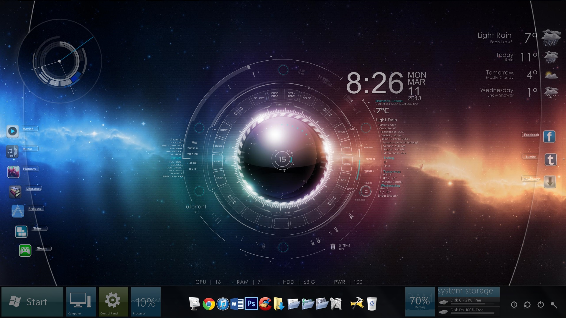 free download wallpapers rainmeter - photo #6