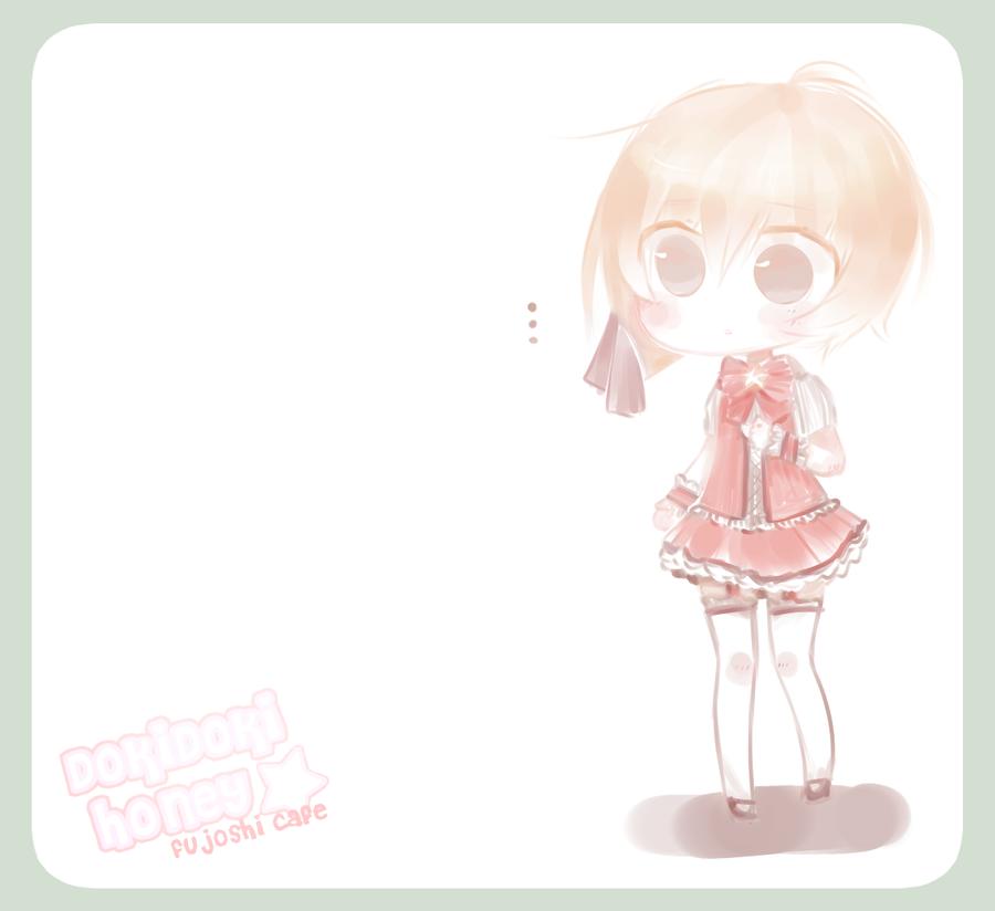 .:FujoshiCafe : Kaoru Chibi:. by InkHeartPaw