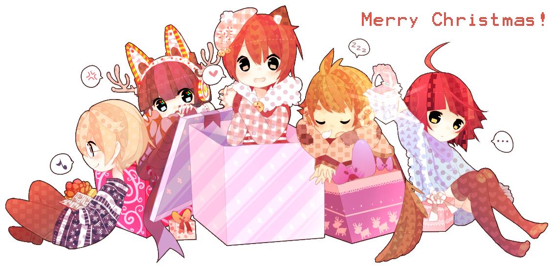 Resultado de imagem para anime christmas png tumblr