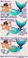 [Tutorial] Mermaid Tails 2019 by inkogeki