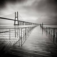 View on the bridge III by EmilStojek