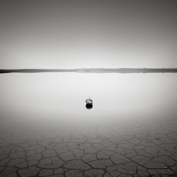 Fog at the lake bed II by EmilStojek