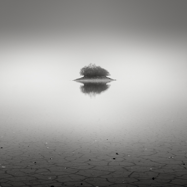 Fog at the lake bed III by EmilStojek