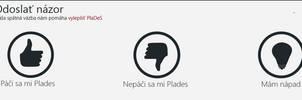 PlaDes - send feedback window 1