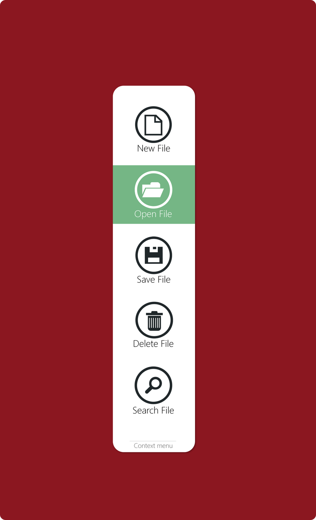 Desktop ContextMenu