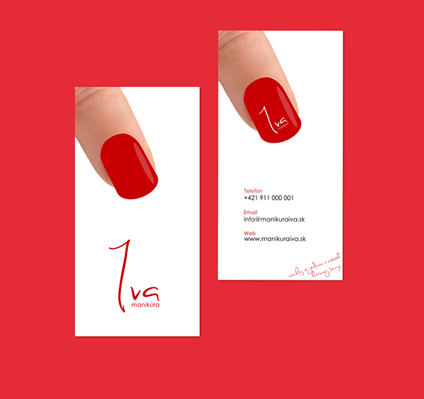 Business card for nails studio iva by jozef89 on deviantart business card for nails studio iva by jozef89 colourmoves Image collections