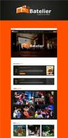 Web design for Batelier by jozef89