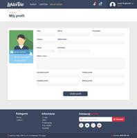 Lektorino profile form by jozef89