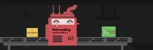 Rebranding machine