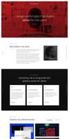 Redesing of my website
