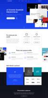 Landing page for coolPrezentacie