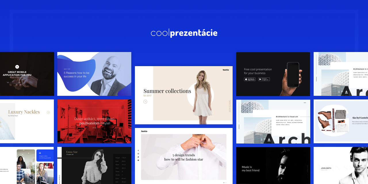 Preview of template for coolprezntacie.eu by jozef89