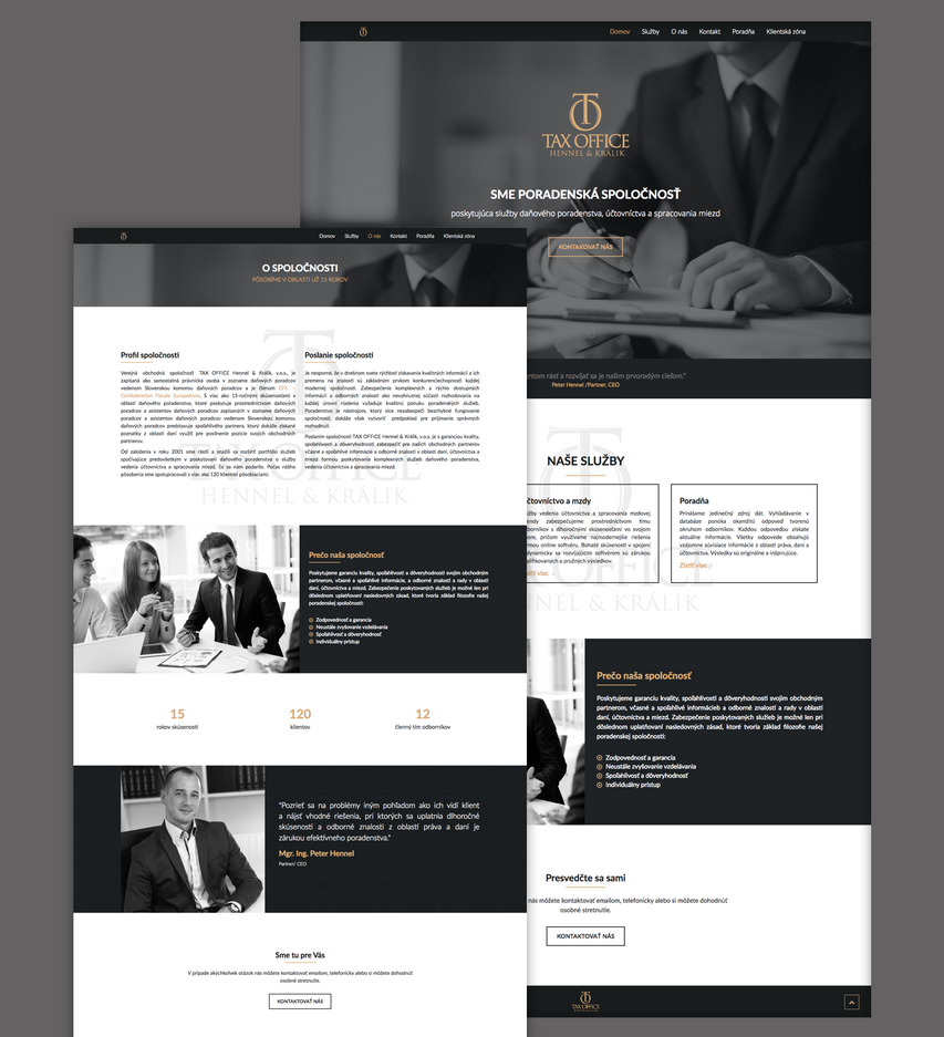 Preview of website by jozef89