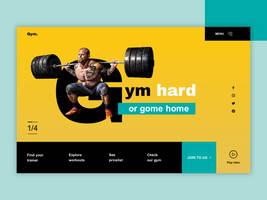 Gym header by jozef89