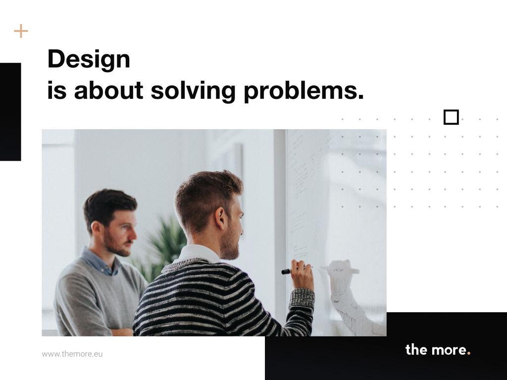 Slide design