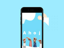 Splash-screen for sign language app by jozef89