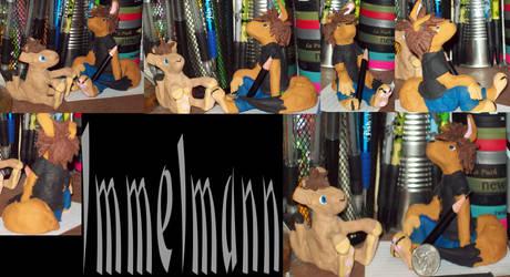 Immelmann by KibaTheDemonicWolf