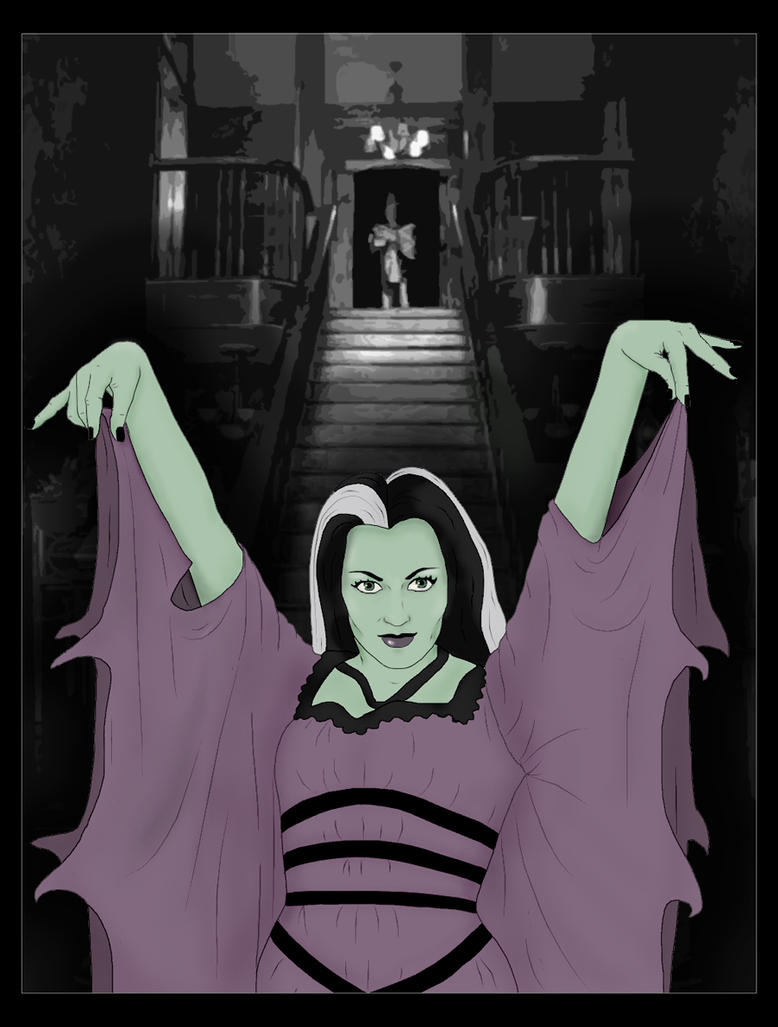 Lily Munster by FionaStrange