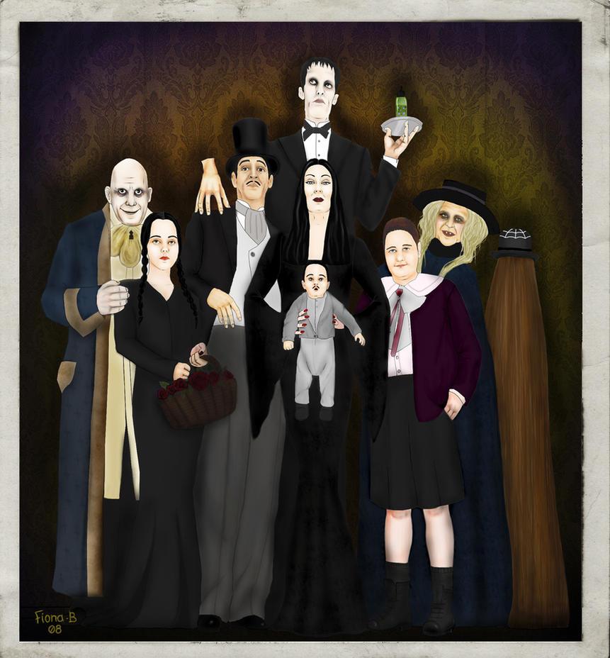 The Addams Family by FionaStrange