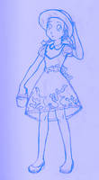 Seaside Lolita WIP